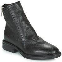 Pantofi Femei Ghete Airstep / A.S.98 FLOWER ZIP Negru