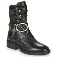 Pantofi Femei Ghete Airstep / A.S.98 FLOWER BUCKLE Negru