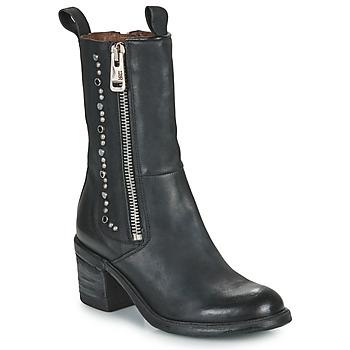 Pantofi Femei Botine Airstep / A.S.98 JAMAL STUDS Negru