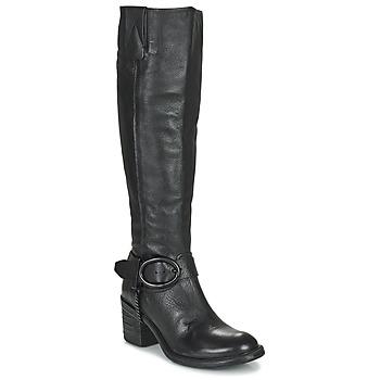 Pantofi Femei Cizme casual Airstep / A.S.98 JAMAL HIGH Negru