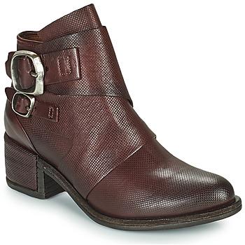 Pantofi Femei Ghete Airstep / A.S.98 OPEA LOW Bordo