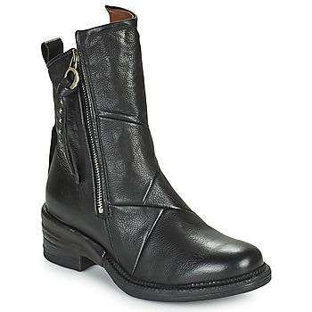 Pantofi Femei Ghete Airstep / A.S.98 MIRACLE ZIP Negru