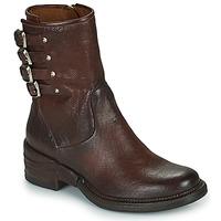 Pantofi Femei Ghete Airstep / A.S.98 MIRACLE BUCKLE Bordo