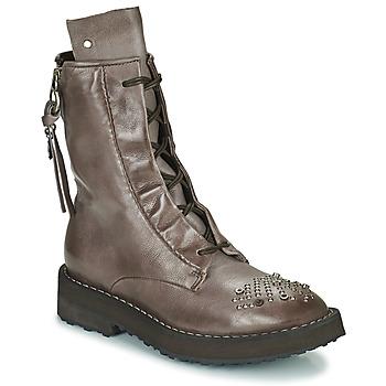 Pantofi Femei Ghete Airstep / A.S.98 CHIMICA Maro