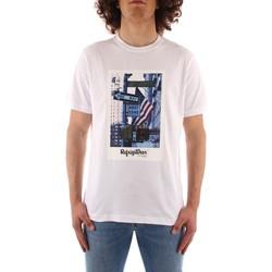Îmbracaminte Bărbați Tricouri mânecă scurtă Refrigiwear JE9101-T24400 WHITE