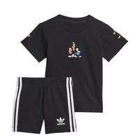 Îmbracaminte Băieți Compleuri copii  adidas Originals COTES Negru