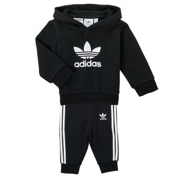 Îmbracaminte Copii Compleuri copii  adidas Originals TROPLA Negru