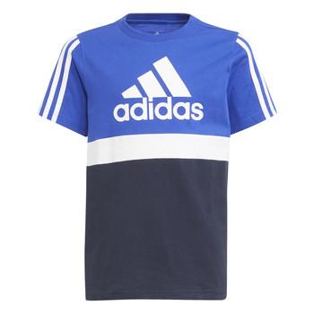 Îmbracaminte Băieți Tricouri mânecă scurtă adidas Performance ABATIA Albastru / Negru