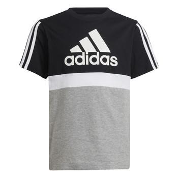 Îmbracaminte Băieți Tricouri mânecă scurtă adidas Performance MOULITA Gri / Negru