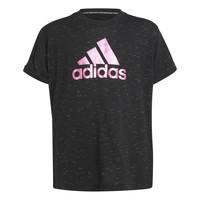 Îmbracaminte Fete Tricouri mânecă scurtă adidas Performance MONICA Negru