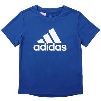 Îmbracaminte Băieți Tricouri mânecă scurtă adidas Performance CLAUDIA Albastru