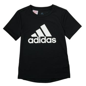 Îmbracaminte Băieți Tricouri mânecă scurtă adidas Performance NADGED Negru