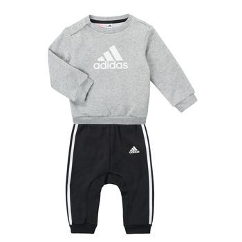 Îmbracaminte Băieți Compleuri copii  adidas Performance SONIA Gri / Negru
