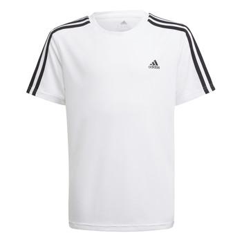 Îmbracaminte Băieți Tricouri mânecă scurtă adidas Performance AYMERICA Alb