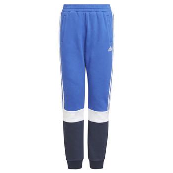 Îmbracaminte Băieți Pantaloni de trening adidas Performance KATIA Albastru / Negru