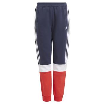 Îmbracaminte Băieți Pantaloni de trening adidas Performance ALMANA Albastru / Roșu