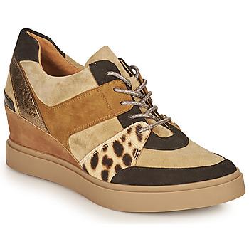 Pantofi Femei Pantofi sport Casual Mam'Zelle PERRY Bej / Negru / Leopard
