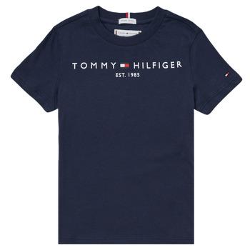 Îmbracaminte Băieți Tricouri mânecă scurtă Tommy Hilfiger SELINERA Albastru