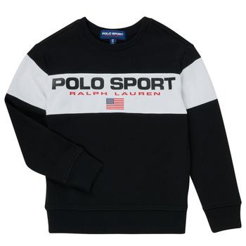 Îmbracaminte Băieți Hanorace  Polo Ralph Lauren SIMEON Negru