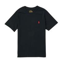 Îmbracaminte Băieți Tricouri mânecă scurtă Polo Ralph Lauren FANNY Negru