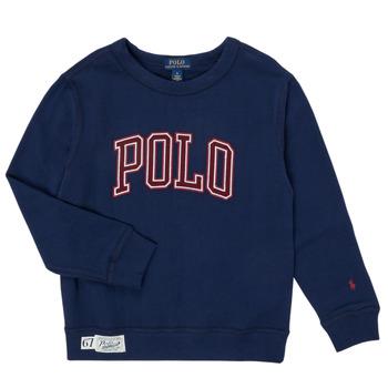 Îmbracaminte Băieți Hanorace  Polo Ralph Lauren KAMILLAR Albastru