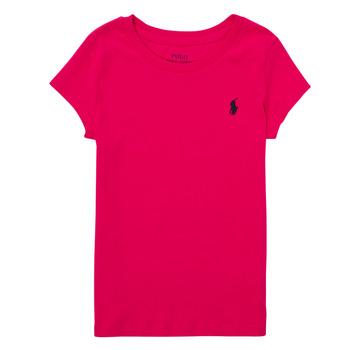 Îmbracaminte Băieți Tricouri mânecă scurtă Polo Ralph Lauren ASKIRA Roz