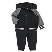 Îmbracaminte Băieți Compleuri copii  Polo Ralph Lauren DENILO Negru / Gri