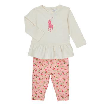 Îmbracaminte Fete Compleuri copii  Polo Ralph Lauren FRENNO Multicolor