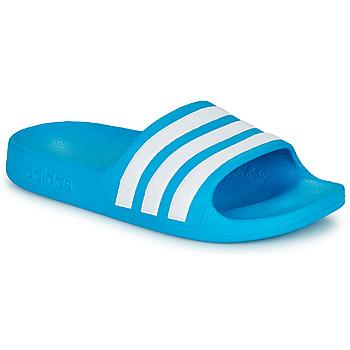Pantofi Copii Șlapi adidas Performance ADILETTE AQUA K Albastru / Alb