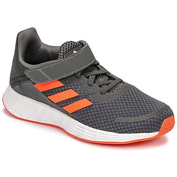 Pantofi Băieți Trail și running adidas Performance DURAMO SL C Gri / Roșu