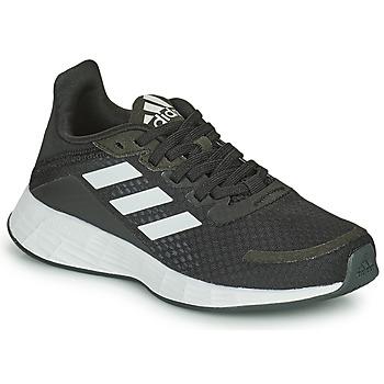 Pantofi Copii Trail și running adidas Performance DURAMO SL K Negru / Alb