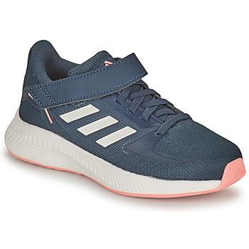 Pantofi Fete Trail și running adidas Performance RUNFALCON 2.0 C Albastru / Roz