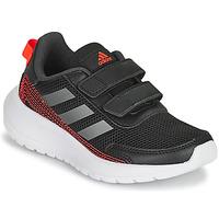 Pantofi Băieți Trail și running adidas Performance TENSAUR RUN C Negru / Roșu