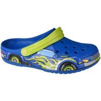 Pantofi Copii Saboti Crocs Fun Lab Truck Band Clog Bleu