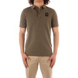 Îmbracaminte Bărbați Tricou Polo mânecă scurtă Blauer 21SBLUT02329 GREEN