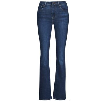 Îmbracaminte Femei Jeans bootcut Levi's 726 HIGH RISE BOOTCUT Albastru
