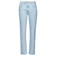 Îmbracaminte Femei Jeans boyfriend Levi's 501 CROP Albastru