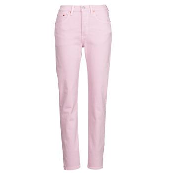 Îmbracaminte Femei Jeans boyfriend Levi's 501 CROP Roz
