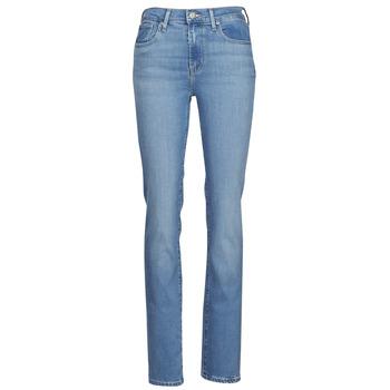 Îmbracaminte Femei Jeans drepti Levi's 724 HIGH RISE STRAIGHT Albastru