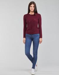 Îmbracaminte Femei Jeans skinny Levi's 720 HIRISE SUPER SKINNY Albastru