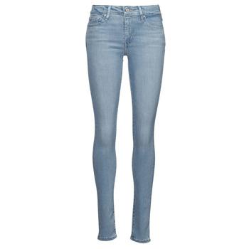 Îmbracaminte Femei Jeans skinny Levi's 712 SKINNY Albastru