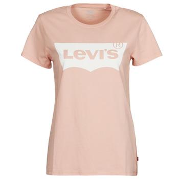 Îmbracaminte Femei Tricouri mânecă scurtă Levi's THE PERFECT TEE Roz