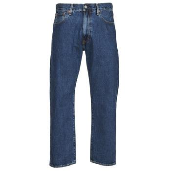 Îmbracaminte Bărbați Jeans drepti Levi's 551Z STRAIGHT CROP Albastru