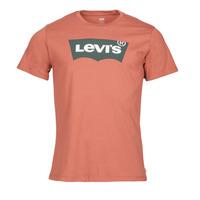 Îmbracaminte Bărbați Tricouri mânecă scurtă Levi's HOUSEMARK GRAPHIC TEE  terracota