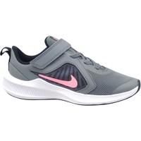 Pantofi Fete Trail și running Nike Downshifter 10 Gri