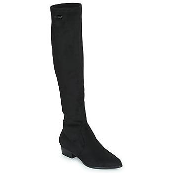 Pantofi Femei Cizme lungi peste genunchi Les Tropéziennes par M Belarbi DENISE Negru