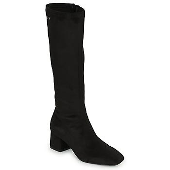 Pantofi Femei Cizme lungi peste genunchi Les Tropéziennes par M Belarbi DOTY Negru