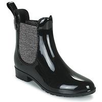 Pantofi Femei Cizme de cauciuc Les Tropéziennes par M Belarbi RAINBOO Negru / Argintiu