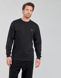 Îmbracaminte Bărbați Tricouri cu mânecă lungă  Vans OFF THE WALL CLASSIC LS Negru