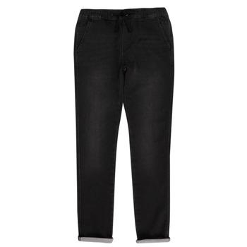 Îmbracaminte Băieți Pantalon 5 buzunare Teddy Smith JOGGER SWEAT Negru